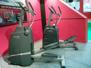 Séances d'entrainement sur vélo elliptique